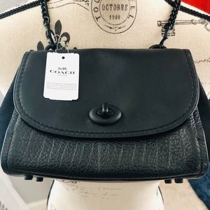NWT Coach Crossbody Black - Faye